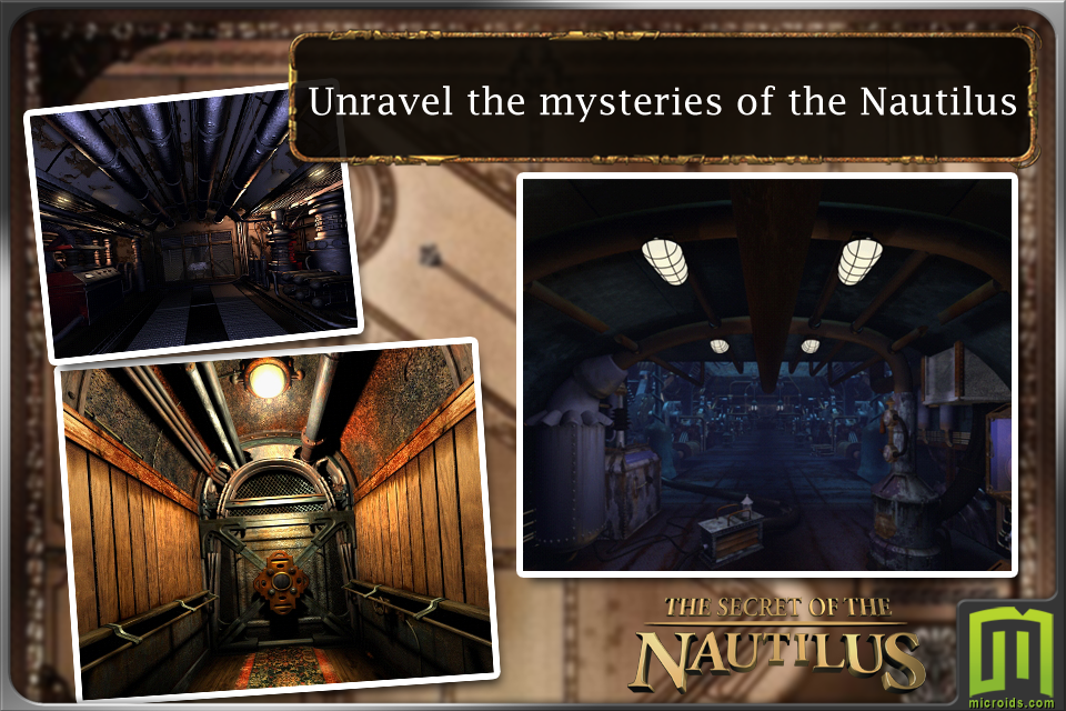 Screenshot Jules Verne's Mystery of the Nautilus